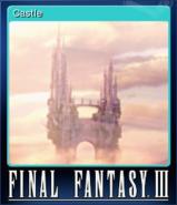 FFIII Steam Card Castle