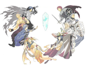 Final fantasy dimensions legends multiple jobs
