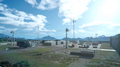 Fort Vaullerey from the lookout tower in FFXV