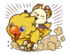 LINE Chocobo Sticker2.png