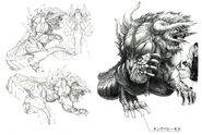 Behemoth FFX Art