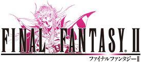The Final Fantasy II Anniversary logo.