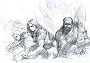 FFVIII Laguna Promo Sketch
