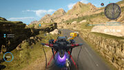 Magna Flight with Regalia Type-F from FFXV Google Stadia.jpg