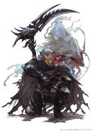 Reaper artwork from Final Fantasy XIV