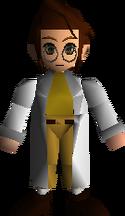 Игровая модель Шеры в Final Fantasy VII.