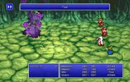 WHM using Fear from FF Pixel Remaster