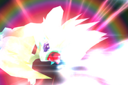 Carbuncle uses Ruby Light from FFIX Remastered