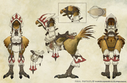 FFXIV White Mage Chocobo Concept