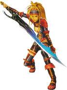 Rikku the Warrior
