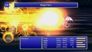 Rydia using Megaflare from FFIV Pixel Remaster