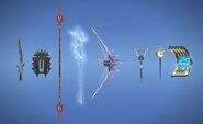 XIII Weapons in XIV