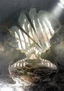 Castle Hein prologue artwork for Final Fantasy III 3D