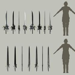Список оружия Final Fantasy XV