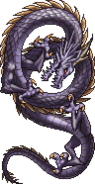 FFIVPSP - Shadow Dragon Sprite