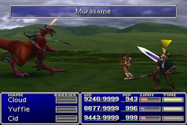 Throw (Final Fantasy VII ability)