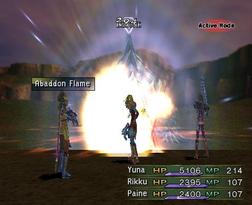 Abaddon Flame