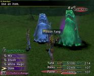 FFX-2 Poison Fang Item