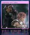 FFXIII-2 Steam Card Lightning and Caius