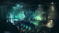 Hojo's Laboratory artwork for Final Fantasy VII Remake