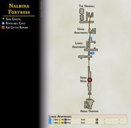 Map 23 Nalbina Fortress