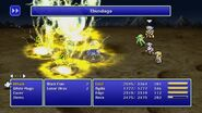 Rydia using Thundaga from FF4 Pixel Remaster