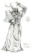 Sorcerer FFV Art