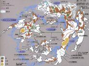 World Map FFVIII Concept Art