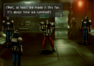 Base Leader confronted at Missile Base from FFVIII R