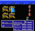 FFIII NES Waterspout