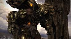 FFXIV Eden Titan