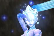 Shiva summoned from FFIX Remastered