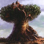 Unused Concept (Giant Tree) FFIX Art