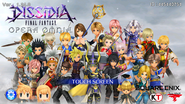 DFFOO Title Screen 1.24.0