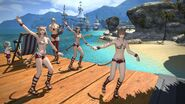Dancing Miqotes