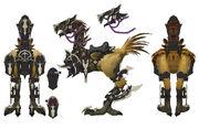 Dragoon Chocobo XIV