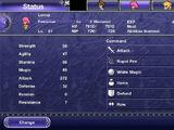 Final Fantasy V stats