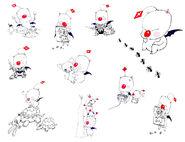 Mog Sketches FFXIII-2