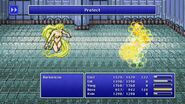 Rosa using Protect from FFIV Pixel Remaster
