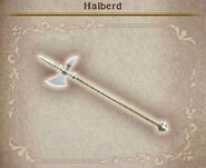 Bravely Default Halberd