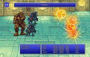 Firion using Haste V from FFII Pixel Remaster