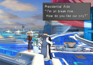 Presidential Aide on a break at Airstation from FFVIII R
