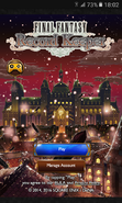 FFRK Countdown to New Year 2017 Title Screen