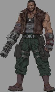 Barret from Final Fantasy VII Remake artwork.png