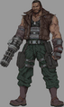 Barret from Final Fantasy VII Remake artwork