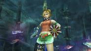 Rikku Victory Pose Underwater