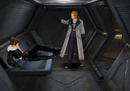 Seifer confronts Squall at the prison from FFVIII R