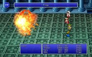 BLM using Firaga from FFIII Pixel Remaster