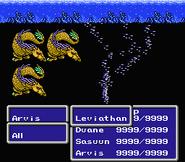 FFIII NES Tempest
