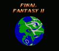 FFII NES World Map